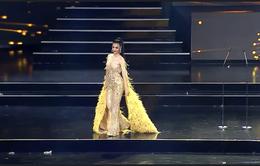 Kiều Loan diện jumpsuit, bikini trình diễn trong đêm Bán kết Miss Grand International 2019