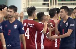 Thua Thái Lan, ĐT futsal Việt Nam săn vé VCK châu Á ở trận tranh HCĐ