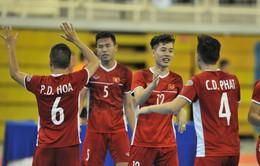 Thắng đậm Myanmar, ĐT Futsal Việt Nam giành hạng 3 giải Futsal Đông Nam Á 2019