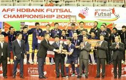 Thắng ĐT Indonesia 5-0, ĐT Thái Lan lần thứ 15 lên ngôi vô địch Futsal Đông Nam Á