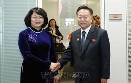 Phó Chủ tịch nước gặp lãnh đạo Venezuela, Triều Tiên và Nghị viện Liên minh châu Phi