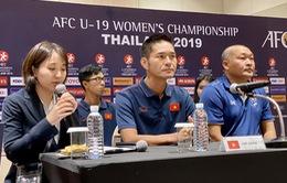 HLV Ijiri Akira: U19 nữ Việt Nam quyết tâm giành điểm trước chủ nhà Thái Lan