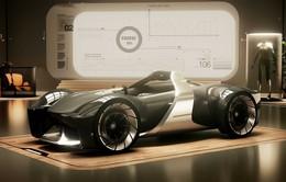 """Chiêm ngưỡng Toyota E-Racer, mẫu xe đua thực tế ảo cực """"chất"""""""