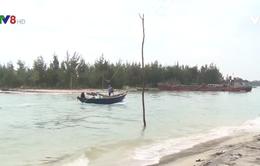Quảng Nam: Cửa Đại bị bồi lấp gây mất an toàn giao thông đường thủy