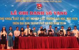 """Hà Nội: Ghi danh sổ vàng 86 thủ khoa đại học """"đầu ra"""" năm 2019"""