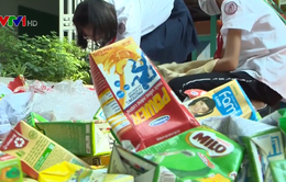 Nhiều trường học ở Hà Nội kiểm toán rác thải nhựa