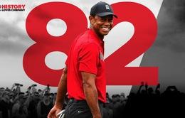Tiger Woods san bằng kỷ lục 82 danh hiệu PGA Tour của Sam Snead
