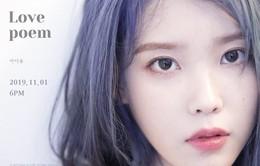 """IU nhá hàng sản phẩm mới """"Love, Poem"""""""