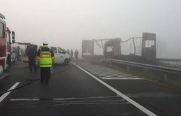 Đâm xe cao tốc tại Hungary, 7 người thiệt mạng