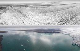 Hình ảnh băng tan đáng báo động ở Iceland sau 40 năm