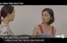 Khuê (Hồng Diễm) - San (Diệu Hương): Đôi bạn thân cùng khổ của làng phim Việt