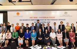 Tuyên bố chung Diễn đàn về nâng cao vai trò và đóng góp của phụ nữ trong lĩnh vực đối ngoại trong kỷ nguyên số
