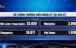 Việt Nam có bao nhiêu thương hiệu được đăng ký tại Hoa Kỳ?