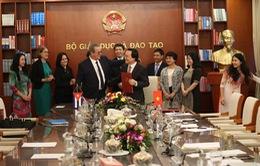 Ký kết thỏa thuận hợp tác giáo dục đại học Việt Nam - Cuba