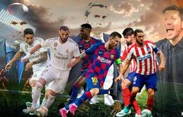 Lịch thi đấu và BXH Giải VĐQG Tây Ban Nha La Liga vòng 23