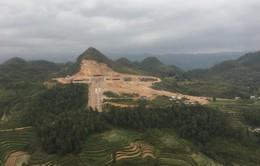 Tạm dừng thi công khu du lịch sinh thái văn hóa tâm linh Lũng Cú