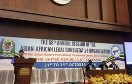 Việt Nam dự Kỳ họp thường niên lần thứ 58 của Tổ chức tham vấn pháp luật Á-Phi
