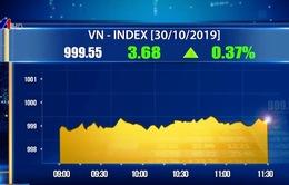 VN-Index vẫn chưa vượt ngưỡng 1.000 điểm