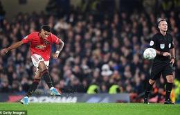 """Ghi bàn như C.Ronaldo, Marcus Rashford được HLV Solskjaer """"tâng lên mây"""""""