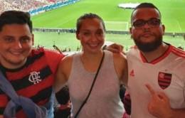 Quá ham mê, cô gái bỏ việc đi khắp thế giới xem bóng đá