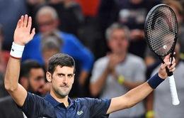 Paris Masters 2019: Djokovic thẳng tiến vào tứ kết
