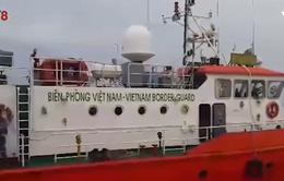 Cứu nạn tàu Thành Công 999 bị chìm trên biển Hà Tĩnh
