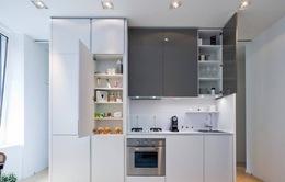 Lựa chọn tủ bếp đa năng giúp tiết kiệm không gian