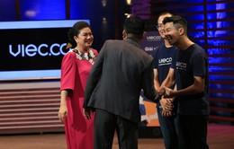 """Shark Tank Việt Nam: Dàn cá mập """"đại chiến"""" vì startup Việc Có"""