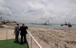 Singapore xây cảng container tự động lớn nhất thế giới