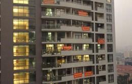 Mất an ninh trật tự vì tranh chấp giữa cư dân chung cư và chủ đầu tư