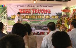 Nhiều hoạt động văn hóa đặc sắc tại Liên hoan phục dựng lễ hội truyền thống người Cơ Tu