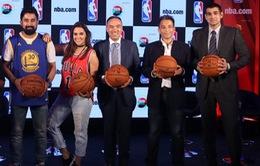 NBA xem xét khả năng mở rộng thị trường tại Ấn Độ