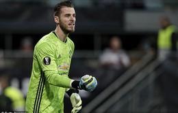 """De Gea cam kết """"chắc nịch"""" về tương lai với Man Utd"""