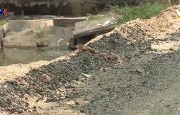 Gia Lai: Thi công đường không đảm bảo chất lượng