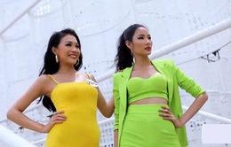 """Tôi là Hoa hậu Hoàn vũ Việt Nam: Không """"núp bóng"""" chị, em gái Hoàng Thùy được khen độc lập"""