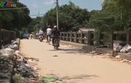 Nan giải xử lý rác thải tại Quảng Ngãi