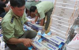 Thu giữ hơn 4.300 gói thuốc lá nhập lậu tại Long An