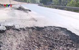 Lại tiếp tục sửa chữa quốc lộ 1 đoạn qua Phú Yên