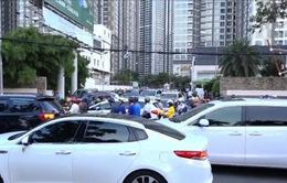 TP.HCM: Sửa đường Nguyễn Hữu Cảnh, nguy cơ kẹt xe trầm trọng