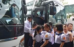 Tăng cường đảm bảo an toàn trong đưa đón học sinh bằng ô tô