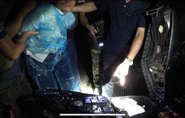 Triệt phá 2 chuyên án ma túy, thu giữ nhiều vũ khí nóng