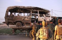Tấn công xe bus chở binh sỹ ở Afghanistan, ít nhất 10 người thiệt mạng