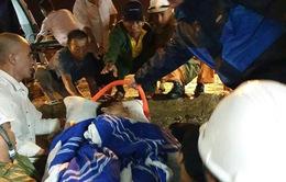 Cứu nạn thuyền viên Nghệ An bị tai nạn lao động trên khu vực biển Vịnh Bắc Bộ