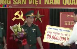 Lãnh đạo Đà Nẵng trao thưởng cho Đoàn đặc nhiệm Phòng chống ma túy và tội phạm miền Trung