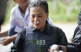 """Phương Oanh khóc nức nở vì đau đớn, Ngọc Thanh Tâm tái mặt vượt thử thách khốc liệt của """"Mỹ nhân hành động"""""""