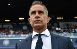 Lyon sa thải HLV Sylvinho sau khởi đầu thất vọng