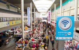Wi-fi không dây miễn phí sẽ được phủ khắp Seoul, Hàn Quốc