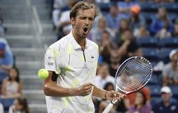 """""""Thần đồng"""" quần vợt Nga Daniil Medvedev hướng tới trận chung kết thứ 6 liên tiếp"""