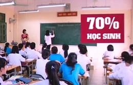 Gần 70% học sinh cảm thấy không hạnh phúc do áp lực điểm số
