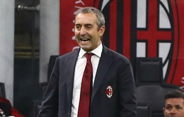 CHÍNH THỨC: AC Milan sa thải HLV Giampaolo chỉ sau 7 trận dẫn dắt